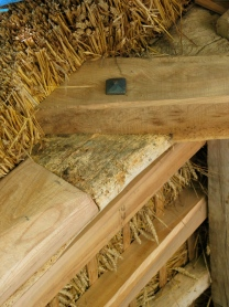 timber frame, barn, waggon shed, green oak, peg joint