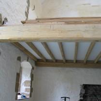 restoration, timber frame, green oak, oak beams