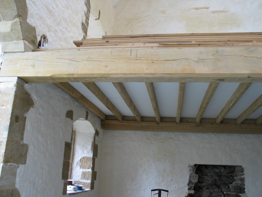 restoration, timber frame, green oak, oak beams