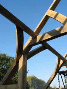 carpenter, timber framer, oak frame, green oak, carpentry, roof truss, timber frame