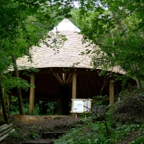 green oak, timber frame, garden structures, oak building, green woodworking, oak frame, Ruskin Mill