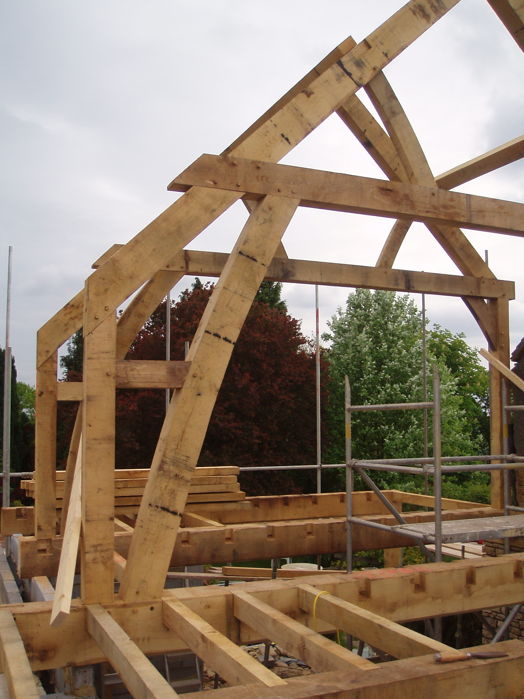Conservatory Roof Conversion >> Bubblewell | Oak Timber Framing & Carpentry in France