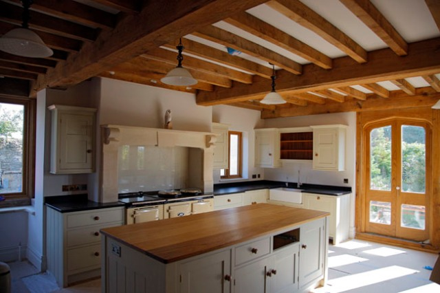 timber frame, extension, oak frame, green oak, timber framing