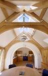 timber frame, carpenter, green oak, kitchen extension