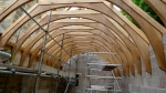 timber frame, carpenter, green oak, oak frame, extension, roof truss