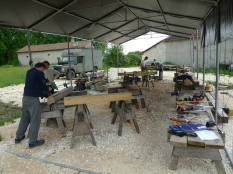 stage de charpente traditionnelle;timber framing course;france